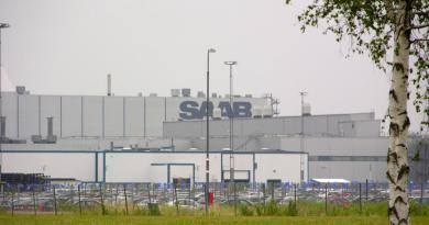 Saab-fabriek Trollhättan 2010