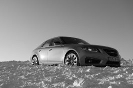 Is dat kunst, of gewoon een Saab? Afbeelding van Claus