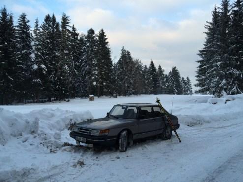 Classico svedese. Saab 900 di Falko