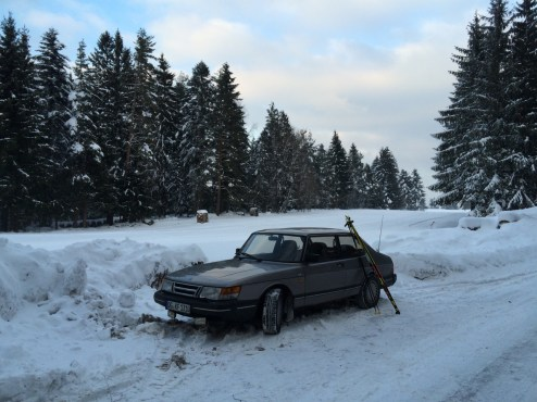 Swedish classic. Saab 900 by Falko