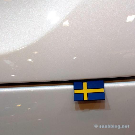 Sweden flag XC40