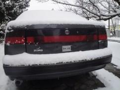 شنومكس في الثلج. صورة مارتن.