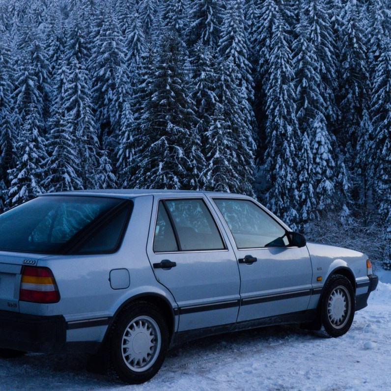 Saab 9000 CC in the Southern Black Forest. Picture of Ralph