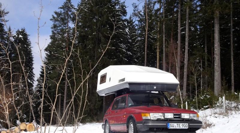 التخييم في فصل الشتاء؟ لا مشكلة مع صعب. صورة ثورستن.