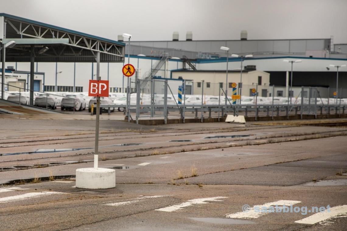 Trollhättan, antiga fábrica da Saab April 2018.
