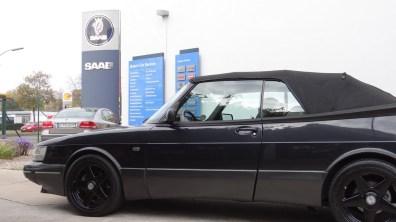 Saab Bredlow в Берлине: Saab 900 Cabriolet.