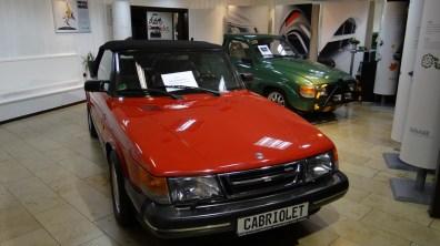 Classico: Saab 900 Cabriolet. Immagine: Bredlow