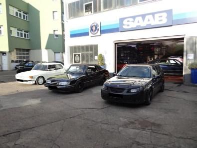 Bredlow, Saab seit 1966.