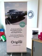 Новый Saab сворачивается с Орио