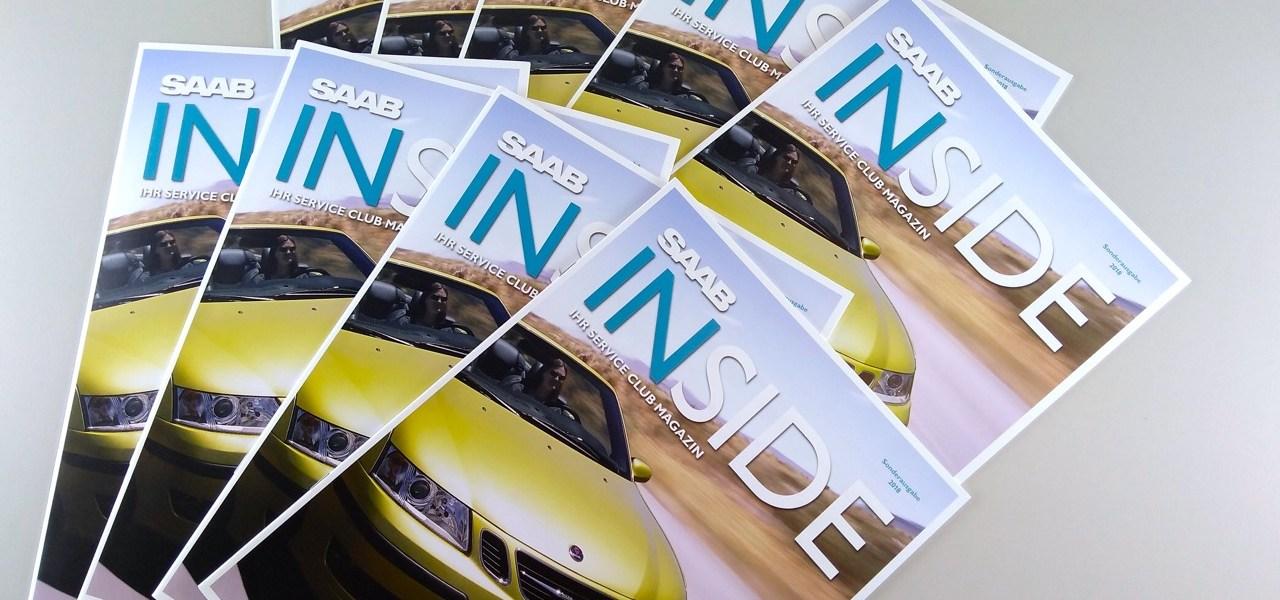 För alla: Saab Inside som en utskriftsversion