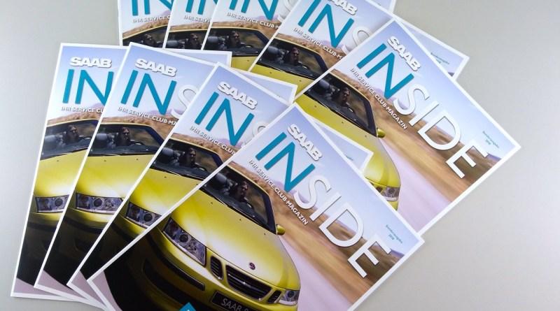 Saab Inside som en utskriftsversion