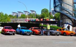 5 Fahrzeuge, jenseits von Schweden, sind schon eine Sensation