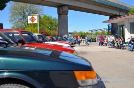 De Saab 900 domineerde. Soms werd het saai ...
