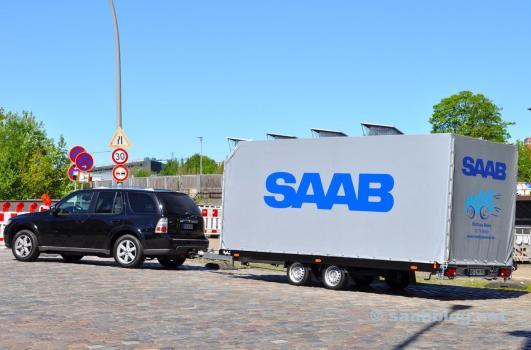 Saab team di Saab Service Tit