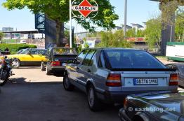 Schöner 9000 CC Turbo mit Aufkleber von Saab Zielke