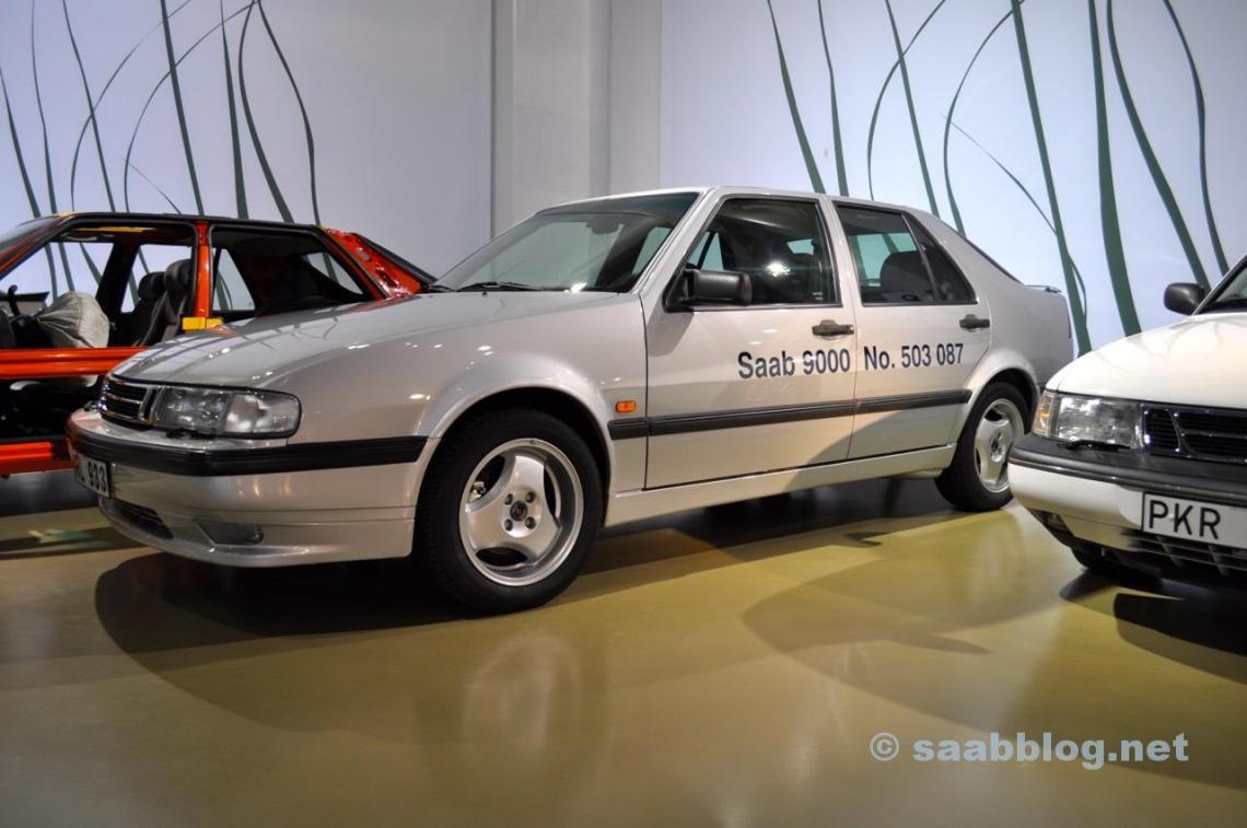 Der letzte Saab 9000 im Museum