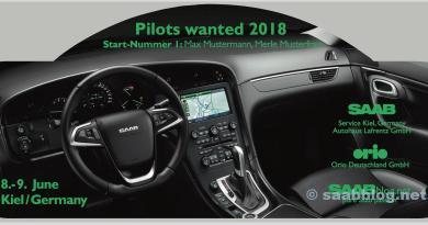 Los pilotos querían 2018, Saab Rallye Plate