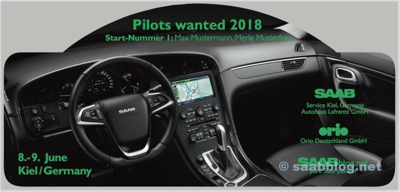 Piloter ville ha 2018, Saab Rallye Plate