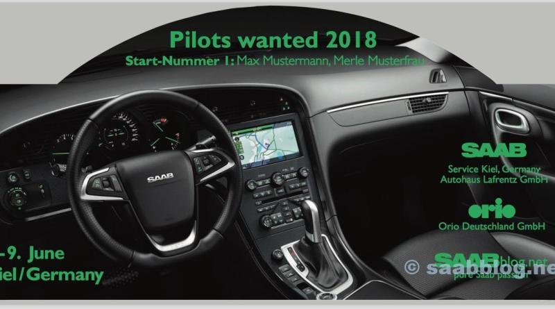 I piloti volevano 2018, Saab Rallye Plate