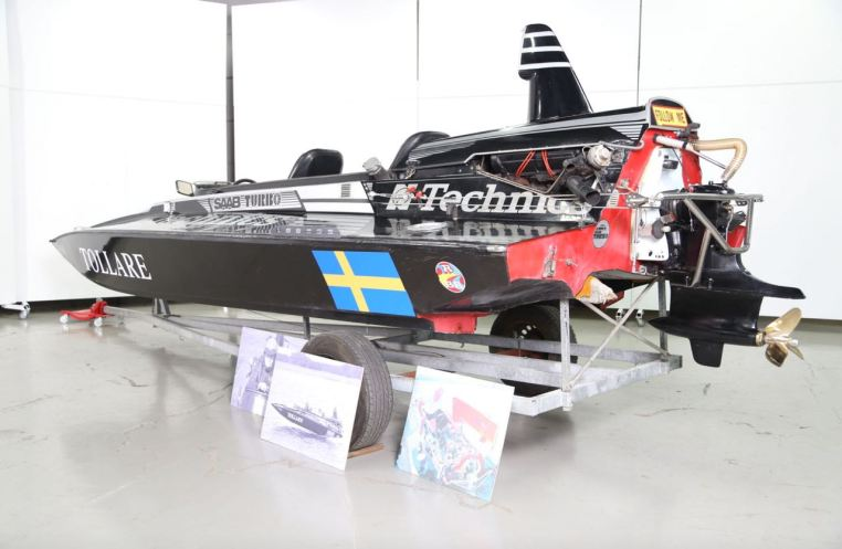 Per Gillbrands Rennboot. Photo: Bilweb