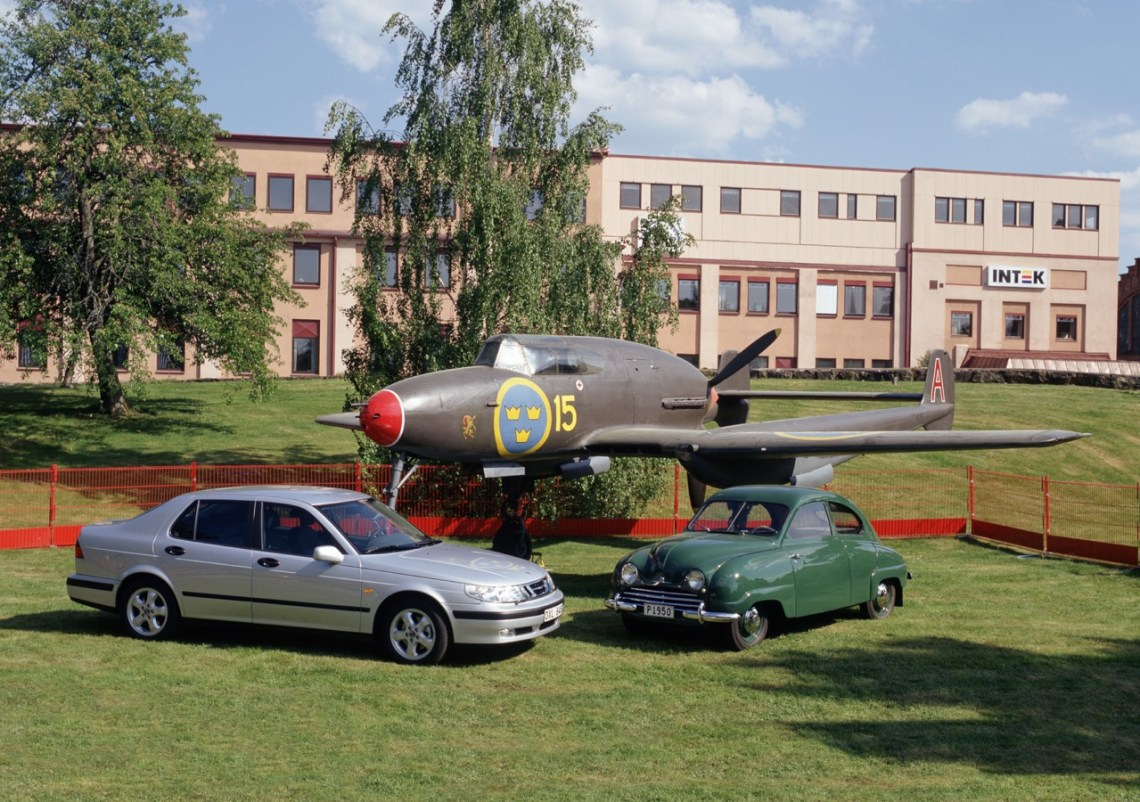 Traditie: Saab 21, Saab 92 en 9-5.