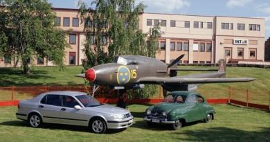 Tradição: Saab 21, Saab 92 e 9-5.