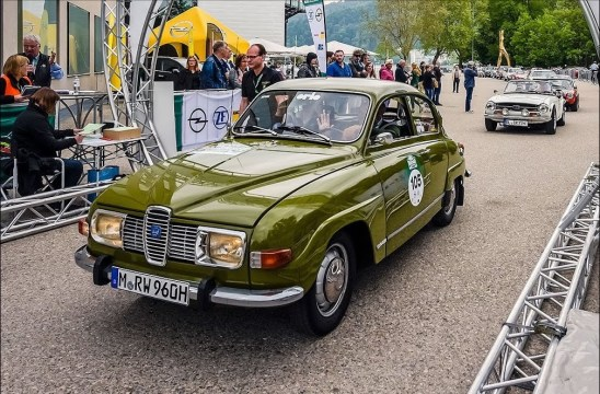 Saab Team Wagenheimer no 96 no BKL. Imagem: Robert Wagenheimer