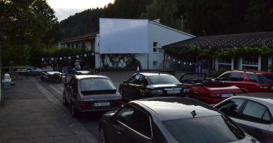 SAAB drive-in cinema in plaats van WM-transmissie