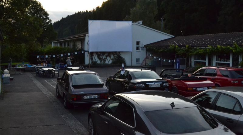 Cinema drive-in Saab