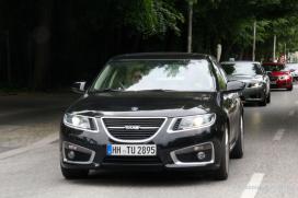 Saab convoy