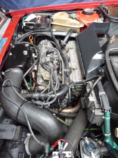 Power plant in the Lancia Delta HF