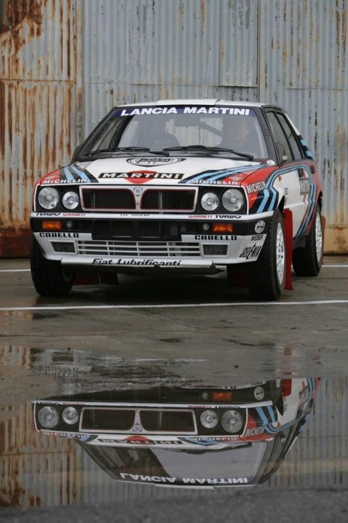 Lancia Delta Integrale. Ein Monte-Winner!