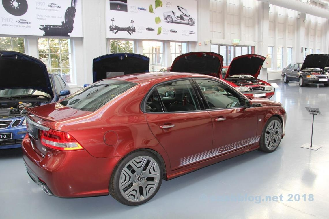 Museo Saab ottobre 2018. L'ultimo prototipo di Saab