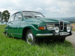 Saab 96 in the summer 2010