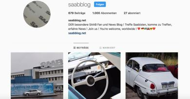 Saab Instagram Aktion