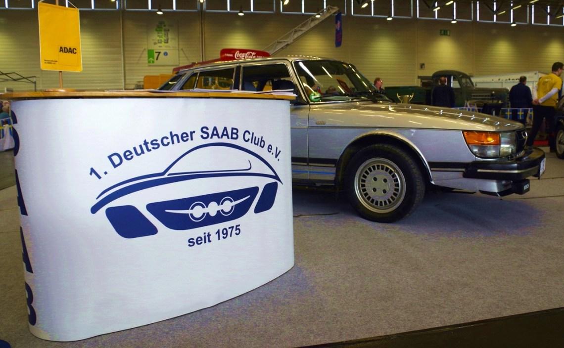 Saab no Retro Classics Cologne