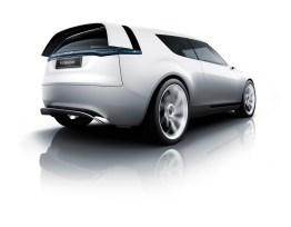 Actief aerodynamisch pakket, hier met actieve achterspoiler