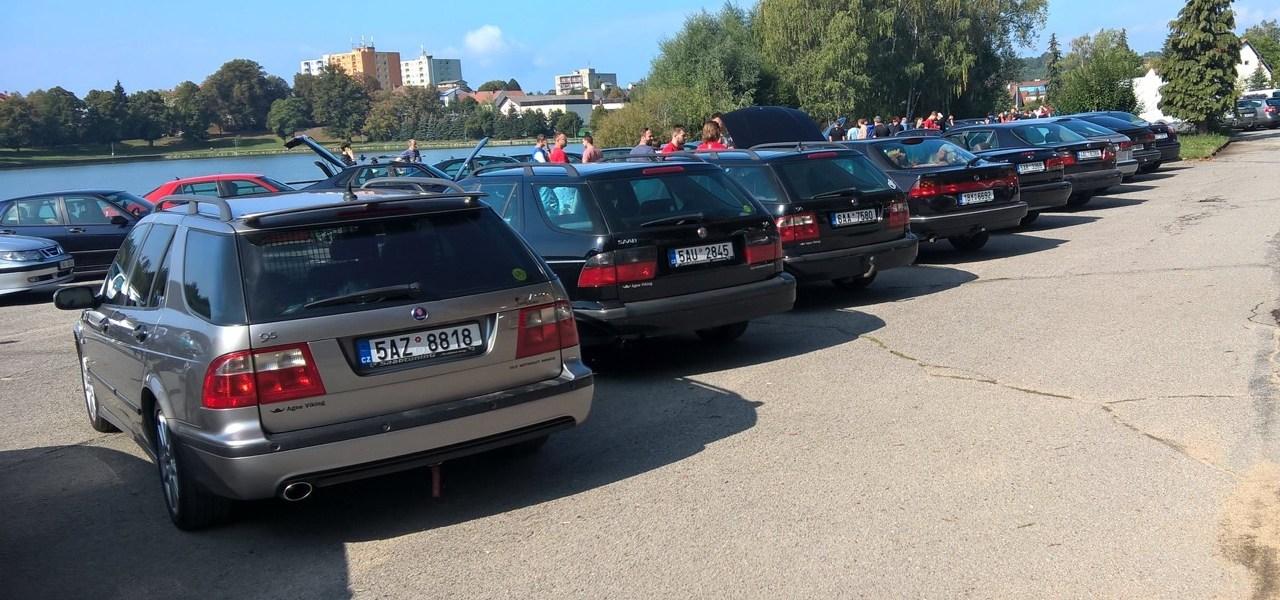 Dos reuniones diferentes de Saab en dos días en dos países.