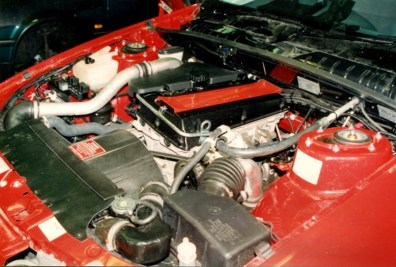 Saab B234 im Holden Commodore