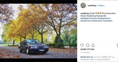 Saab Instagram image Novembro 2018