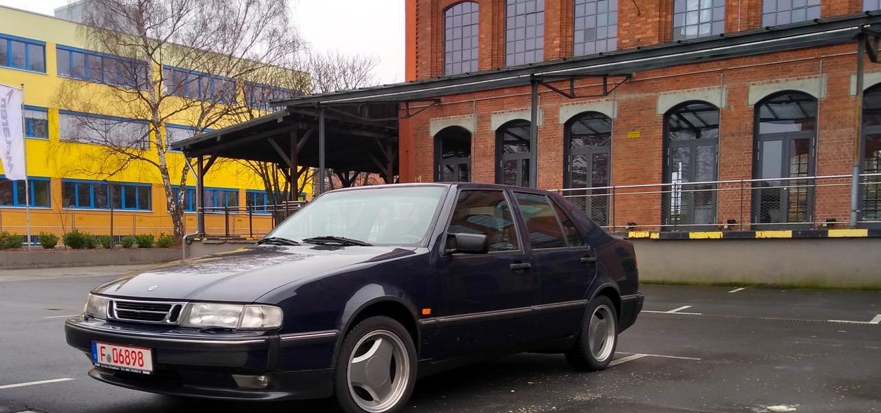 Saab 9000 CSE 2.3 turbo. Una storia di test drive.