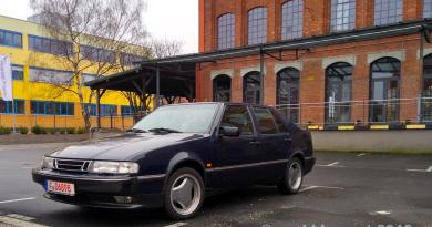 Saab 9000 CSE 2.3 turbo. A test drive story.