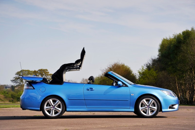 It is May. What could be better than having a Saab open?