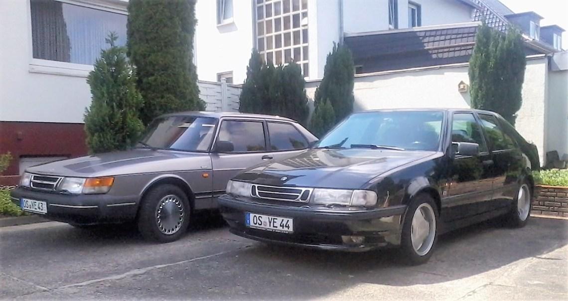 Saab 900 Coupe i rostkvarts metallisk