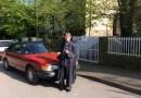 Saab 900 Cabriolet och dess stolta ägare