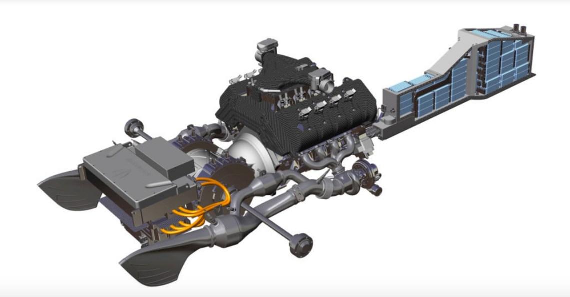 Regera hybrid drivaggregat. Bild: Koenigsegg