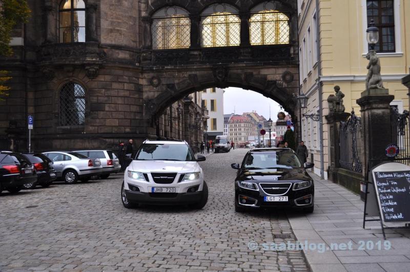 Saab 9-4x and 9-5 NG SC in Dresden