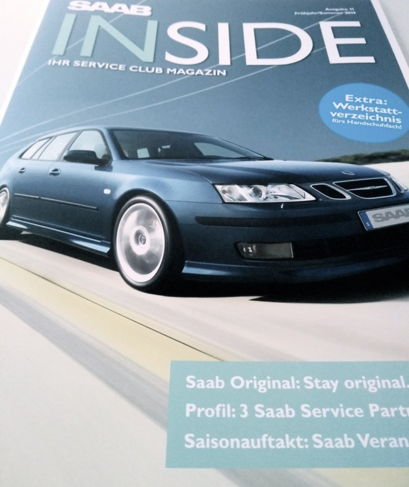 Saab Inside Number 11 is here!