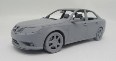 Saab Turbo X. Um carro de sonho será em miniatura.