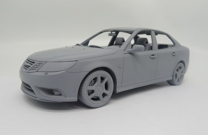 Saab Turbo X 1:18. Kommt im Sommer 2019!